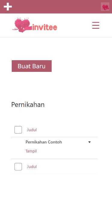 Gambar Halaman Undangan Pernikahan Invitee Site