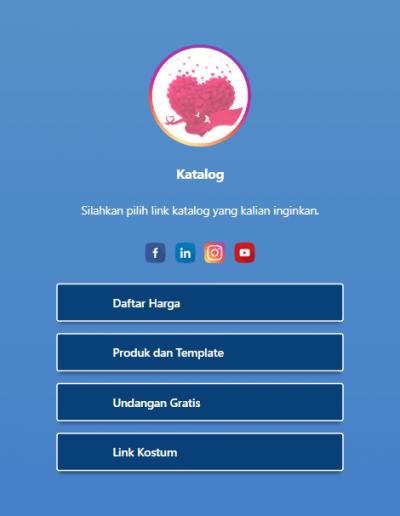 Gambar Screenshoot Tampilan Profil Template Slamet Untuk Tampilan Komputer Desktop Laptop Atau PC MacOS